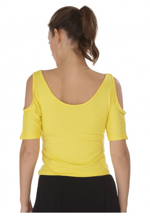 Solid Colour Crop Top