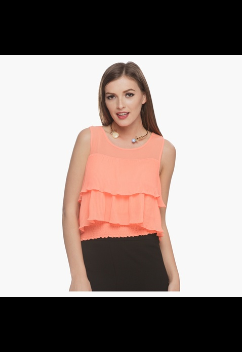 Elle Solid Colour Top