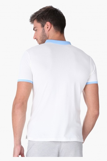 L'HOMME Polo Neck T-shirt