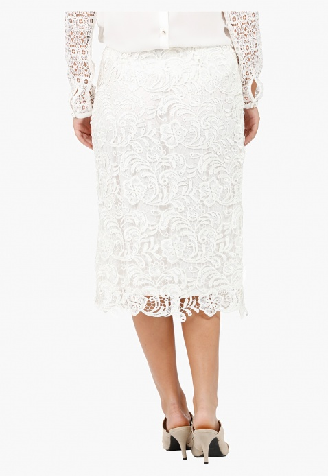 Elle Lace Skirt with A-Line fit