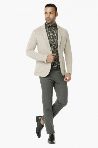 L' Homme Long Sleeves Casual Blazer
