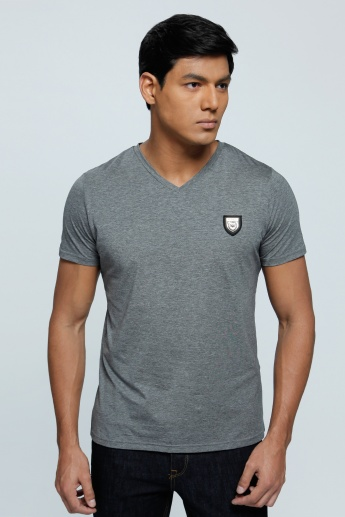 L'Homme V-Neck T-Shirt with Short Sleeves