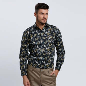L'HOMME Tropical Shirt with Long Sleeves