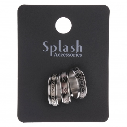 Metallic Ring - Set of 3