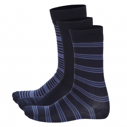 Printed Ankle-length Socks - Set of 3