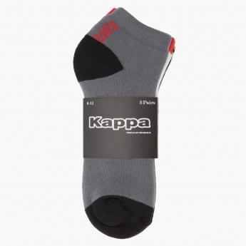 Kappa Dual-tone Socks - Set of 3