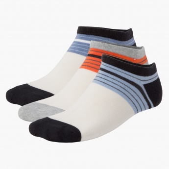 Printed Sport Socks - Set of 3