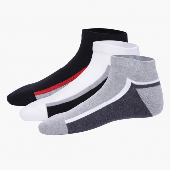 Ankle-length Sport Socks - Set of 3