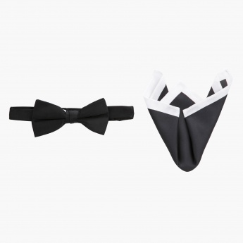 Bow Tie and Pocket Square Set