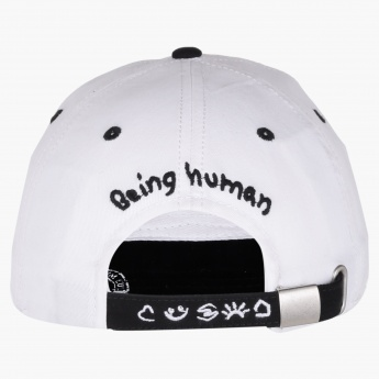 Being Human Cap with Snap Closure