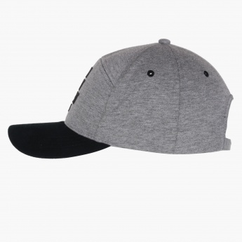 Appliqued Cap with Snap Closure