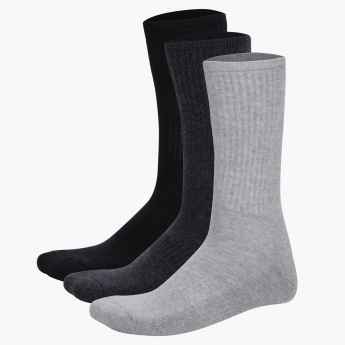 Mid Calf Socks - Set of 3