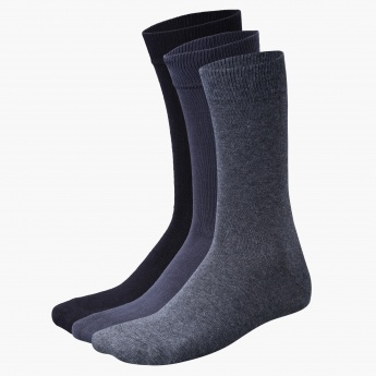 Solid Coloured Crew Socks