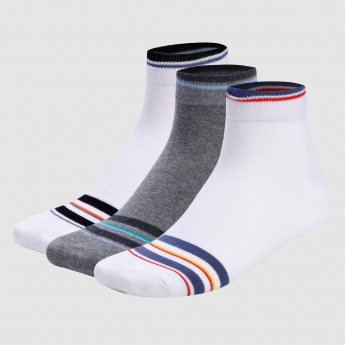 Striped Mid Socks - Set of 3