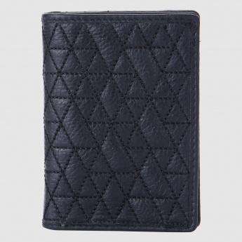 Quilted Soft Bi-Fold Card Case