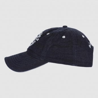 Being Human Embroidered Cap with Buckle Closure