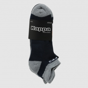 Kappa Ankle Socks - Set of 3