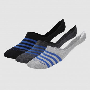 Being Human Striped Invisible  Socks - Set of 3
