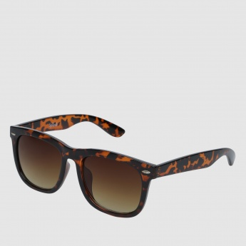 Printed Wayfarer Sunglasses
