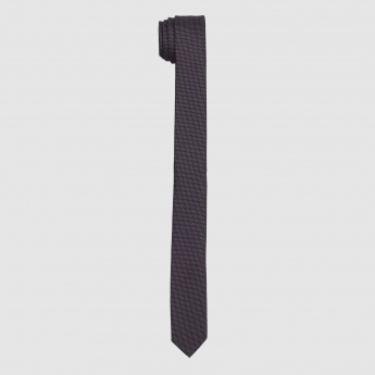 Textured Slim Cut Tie