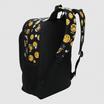 Smiley World Printed Backpack