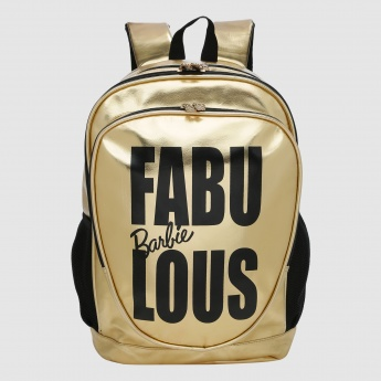 Barbie Printed Shiny Backpack