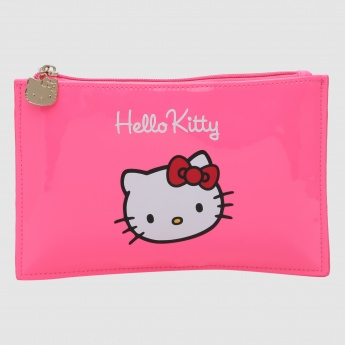 Hello Kitty Printed Flat Pencil Case