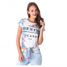 Lee Cooper Printed Crop Top