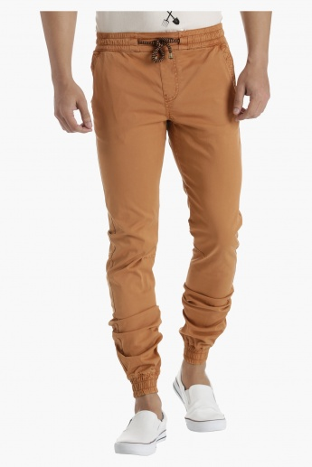 Lee Cooper Cotton Jog Pants in Regular Fit