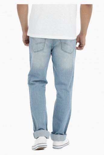 Lee Cooper Full Length Jeans in Medium Rise