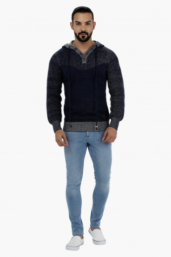 Lee Cooper Cotton Sweater with Hood