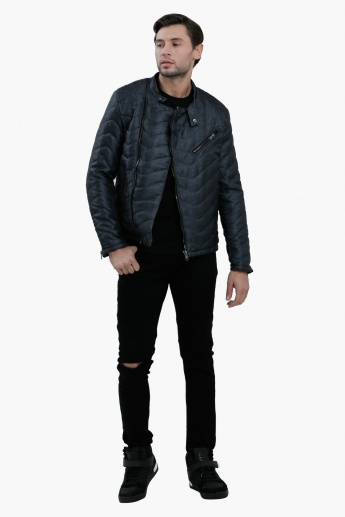 Lee Cooper Long Sleeves Bomber Jacket