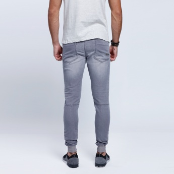 Lee Cooper Full Length Pants with Snug Fitted Cuffs