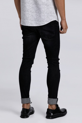 Full Length Jeans with Pocket Detail in Regular Fit