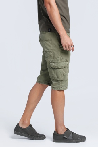Lee Cooper Shorts with Thigh Pockets