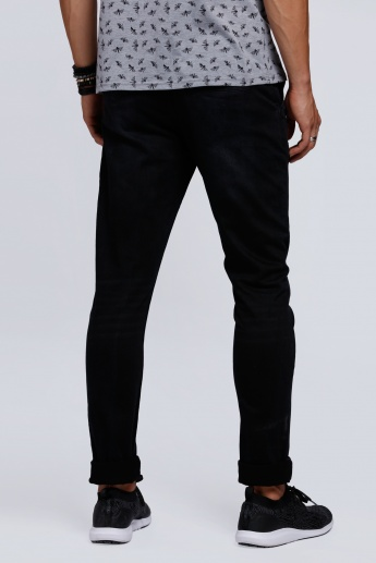 Lee Cooper Full Length Pants with Pocket Detail