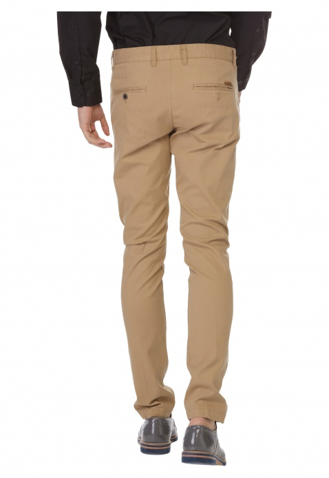 Solid Colour Trousers