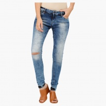 Skinny Fit Jeans in Denim