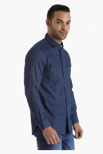 Cotton Shirt in Slim Fit