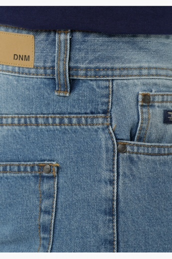 Basic Low Rise Denims in Slim Fit