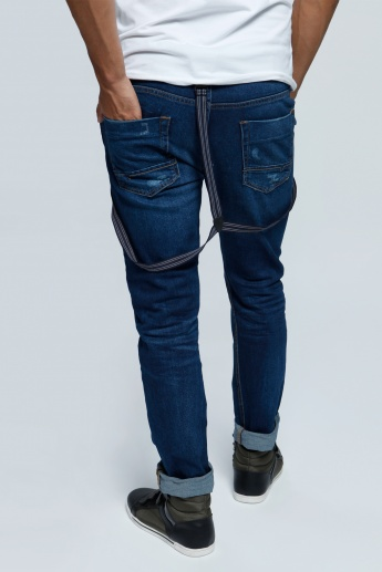 Denim Pants in Slim Fit