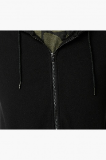 Hooded Jacket with Long Sleeves