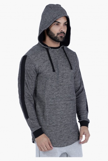Hooded Sweatshirt with Long Sleeves