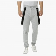 Knitted Jog Pants with Suspenders