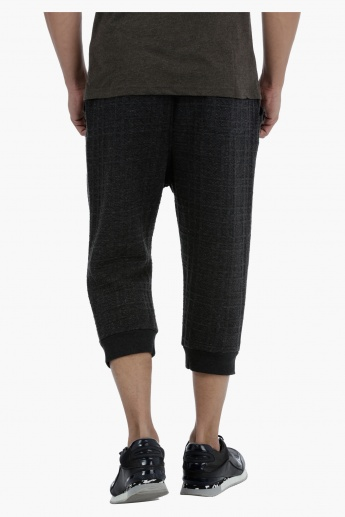 Cropped Joggers with Pocket Detail