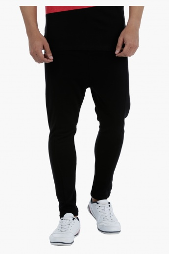 Joggers with Drawstring in Skinny Fit