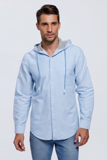 Long Sleeves Shirt with Hood