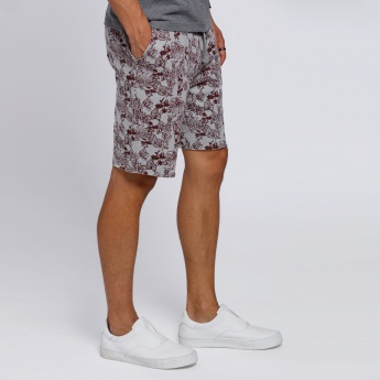 Printed Knee Length Shorts