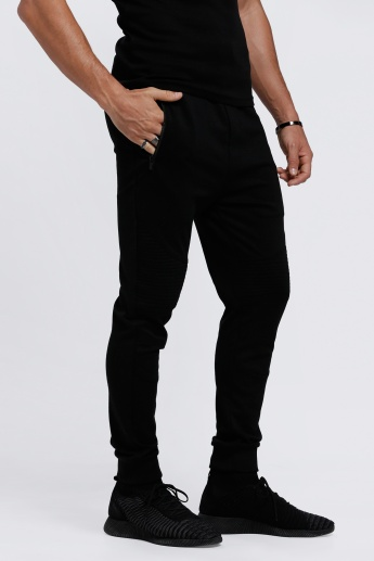 Full Length Pants with Snug Fitted Cuffs