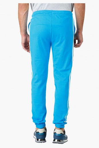 Kappa Embroidered Cotton Jog Pants